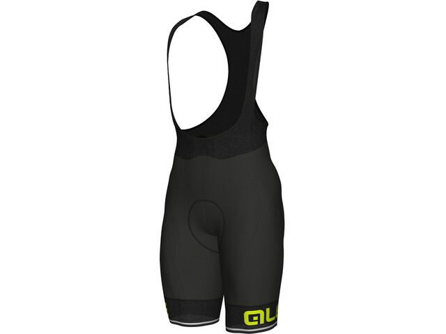 Alé Cycling Corsa Bib Shorts Herren black-fluo yellow